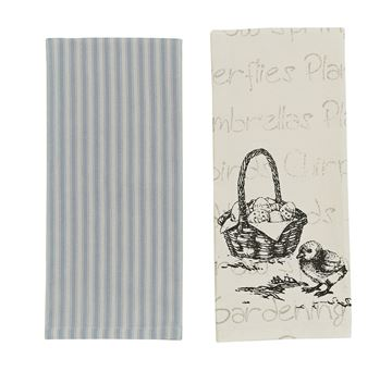 Picture of Chick Decorative Towel - Set Of 2 - Assorted