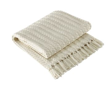 Picture of Cable Cream Throw