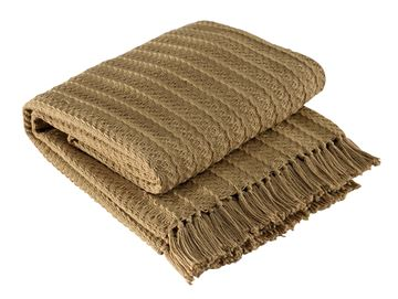 Picture of Cable Tan Throw
