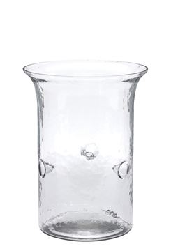 Picture of Hammered Glass Cylinder Candle Holder For Pillar