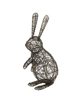Picture of Wire Standing Bunny Decorative Accessory