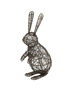 Picture of Standing Bunny Wire Figurine