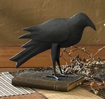 Picture of Olde Crow Iron Figurine