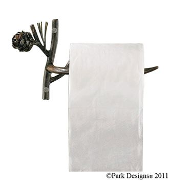 Picture of Pine Lodge Toilet Tissue Holder - Wall Mount