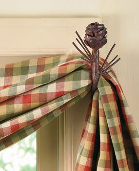 Picture of Pinecone Curtain Hooks - Set of 2