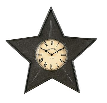 Picture of Star In Black Clock