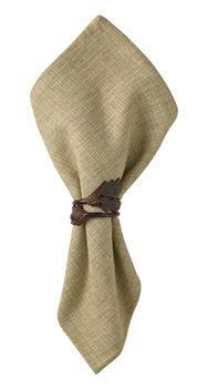 Picture of Acorn Leaf Napkin Ring