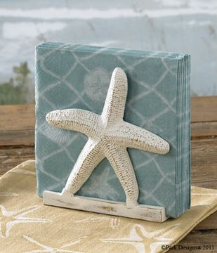 Picture of Starfish Napkin Holder