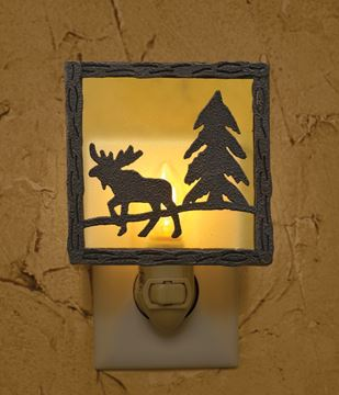 Picture of Moose Night Light