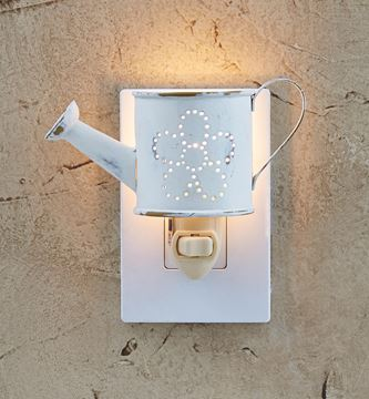 Picture of Distressed Watering Can Night Light