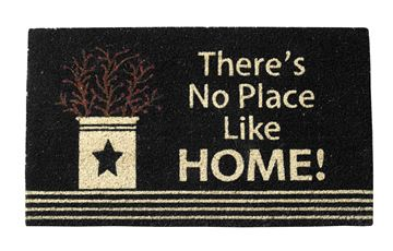 Picture of Berry Crock There's No Place Like Home Doormat