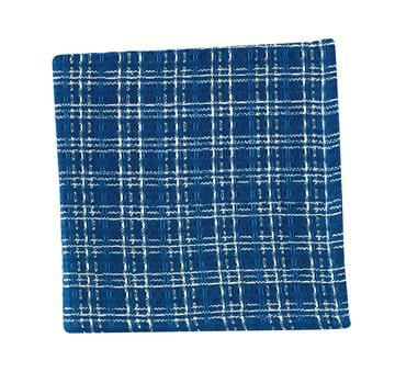 Picture of B Davies In Blue Waffle Weave Dishcloth