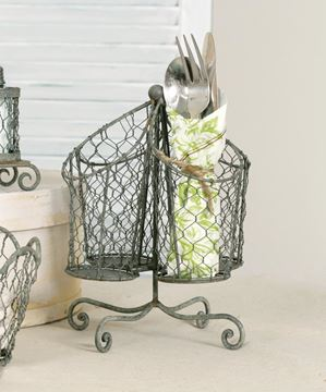 Picture of Chicken Wire Utensil Holder