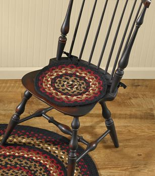 Picture of Folk Art Braided Chair Pad