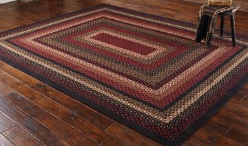 Picture of Folk Art Braided Rug 5' X 8' Rectangle
