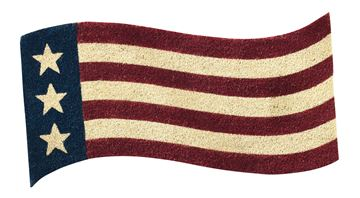 Picture of Star Spangled Flag Doormat