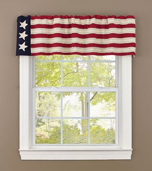 Picture of Star Spangled Valance Unlined