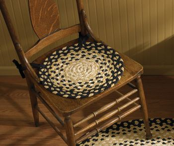 Picture of Cornbread Braided Chair Pad