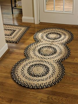 "Picture of Cornbread Braided Rug 30"" X 72"" Runner"