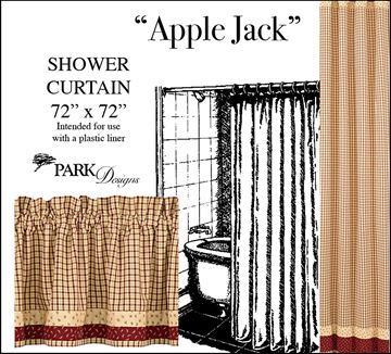 Picture of Apple Jack Shower Curtain