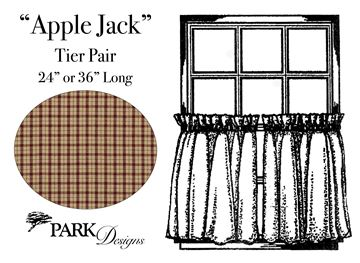 "Picture of Apple Jack Tier Pair 36"" Long Unlined"