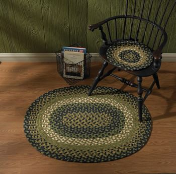 Picture of Countrypolitan Braided Chair Pad