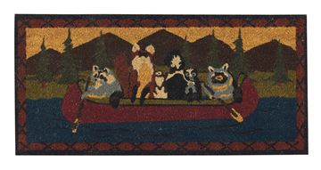 Picture of Animal Canoe Doormat