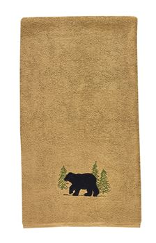 Picture of Black Bear terry Bath Towel