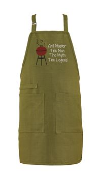 "Picture of Oconee Trail Grill Master ""The Man, The Myth, The Legend"" Apron"
