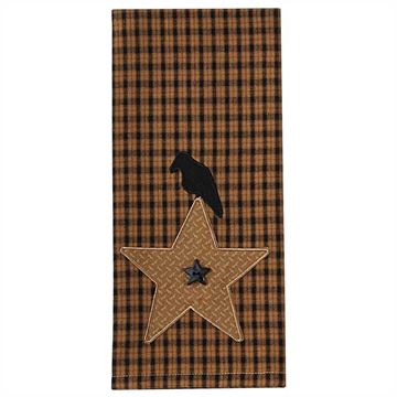 Picture of Crow Star Decorative Towel