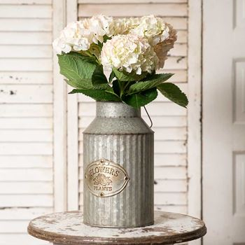 Picture of Flower and Plants Pail / Can With Handle
