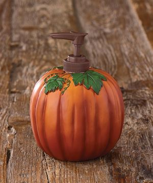 Picture of Pumpkin Soap / Lotion Dispenser