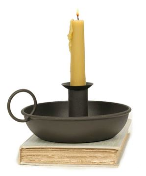 Picture of Flat Dish Candle Holder For Taper