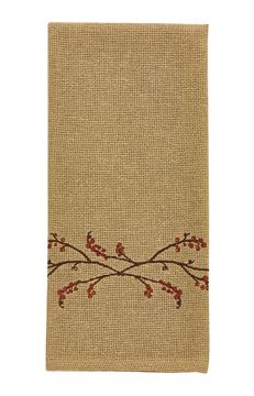 Picture of Burlap & Bittersweet Decorative Towel