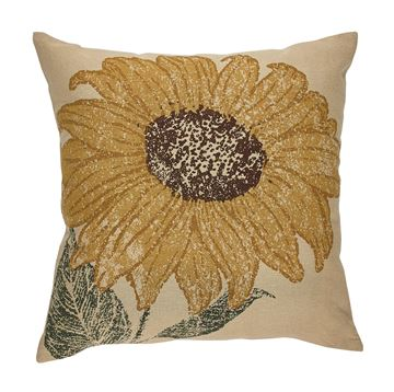 "Picture of Sunflower Printed Pillow Cover 20"" X 20"""