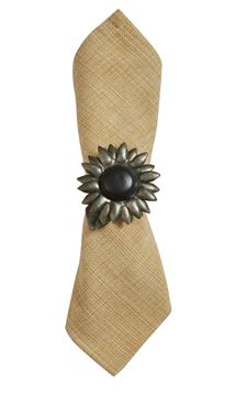 Picture of Sunflower Galvanized Napkin Ring