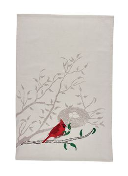 Picture of Cardinal And Nest Decorative Towel