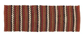 "Picture of Indian Corn Chindi Table Runner 72"" Long"