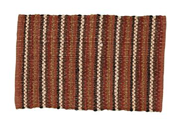 "Picture of Indian Corn Rag Rug Rectangle 24"" X 38"""