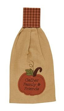 Picture of Pumpkin Patch Hand Towel