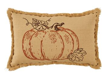 "Picture of Pumpkin Patch Pillow 9"" X 14"""