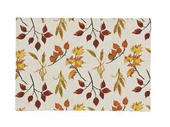 Picture of Fall Leaves & Wheat Placemat