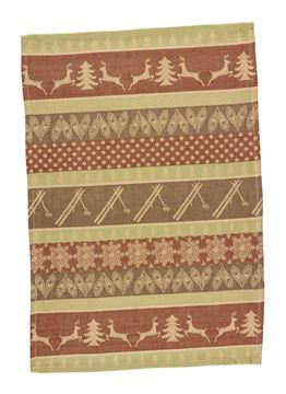 Picture of Cedar Falls Ski Lodge Decorative Towel