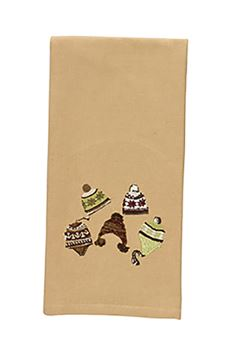 Picture of Cedar Falls Ski Hats Decorative Towel