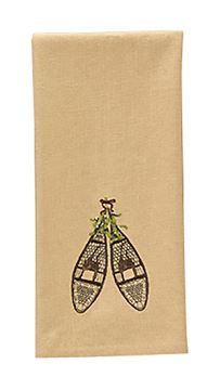 Picture of Cedar Falls Snowshoes Decorative Towel
