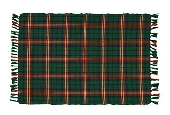 Picture of Boughs of Holly Plaid Placemat