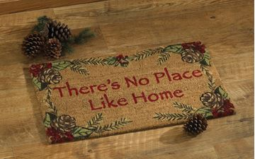 Picture of Balsam & Berries There's No Place Like Home Doormat