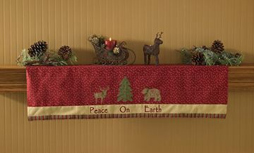Picture of Balsam & Berries Mantle Scarf  / Valance