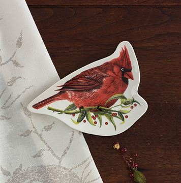 Picture of Winter Birds Ceramics Spoon Rest
