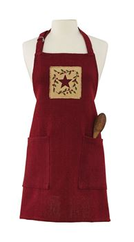 Picture of Christmas Star Apron